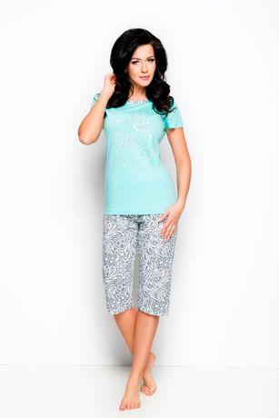Piżama bawełna damska długość 3/4 roz. 44,46,48,50.