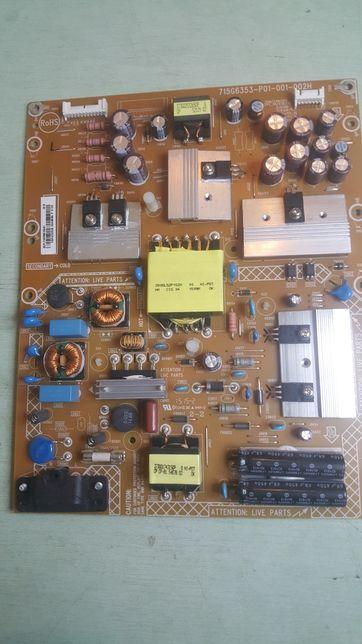 Zasilacz przetwornica TV Philips 40PFH5300