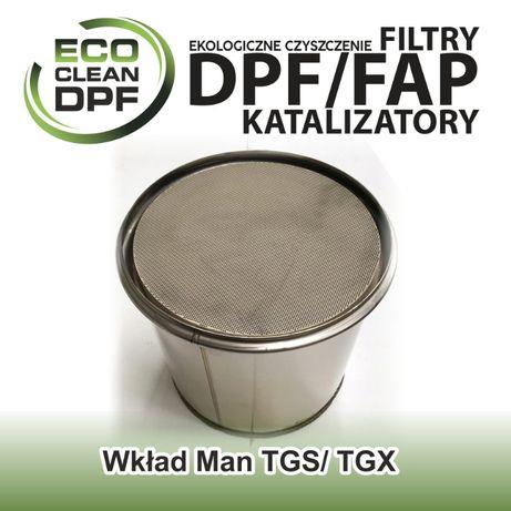 Filtr cząstek stałych - wkład DPF do pojazdów Man TGS TGX