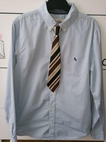 Koszula chłopięca na 164 cm H&M gratis krawat