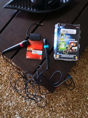 Singstar 2 Microfone para PS3 Karaoke.