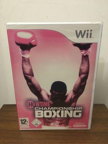 Nintendo Wii - Showtime Boxing Championship *Selado*
