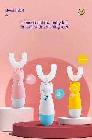 Детская зубная щетка  Электрическая для детей