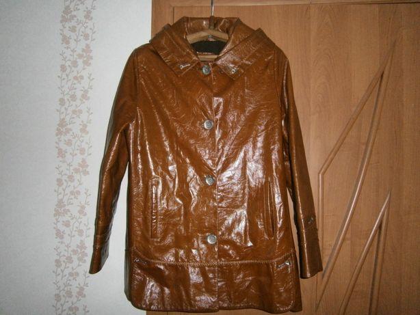 Кожаная курточка женская новая