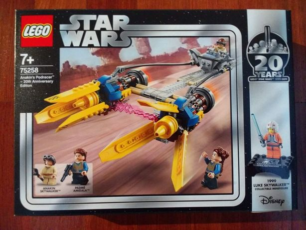 Lego Star Wars 75258 Anakin's Podracer 20th Anniversary Edition