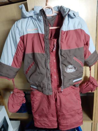 Komplet kurtka zimowa+spodnie 92