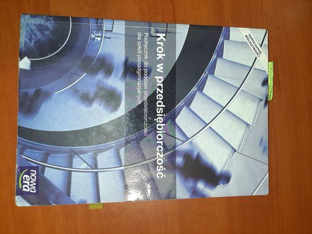 Krok w przedsiębiorczość - podręcznik do przedsiębiorczości