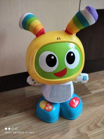 Интерактивная игрушка Fisher-Price Робот Бибо на русском, как новая