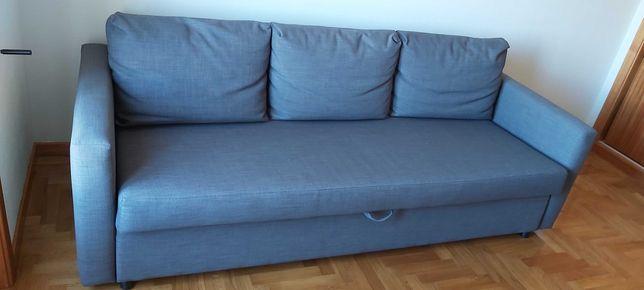 Sofá-cama 3 lugares FRIHETEN  IKEA
