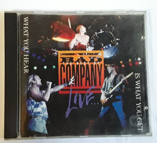 CD The Best of Bad Company Live
