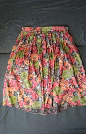Spódnica w odcieniach jesieni rozmiar UK 14