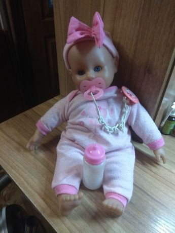 Говорящая Кукла пупс малыш интерактивный