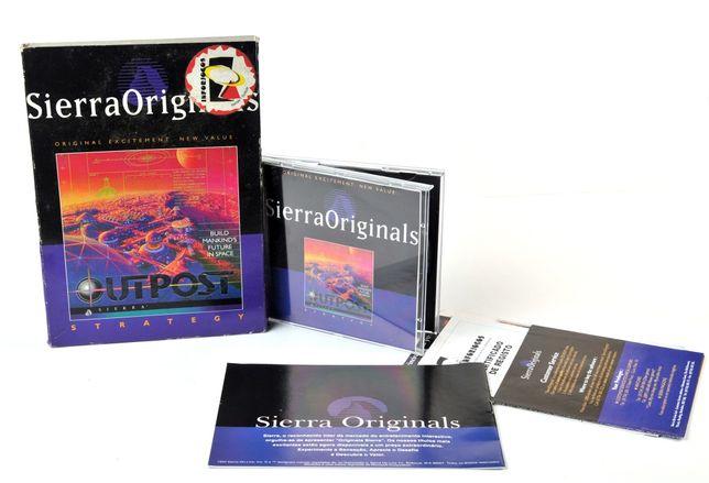 Jogo todo Original, com caixa, instruções, etc - OUTPOST, SIERRA