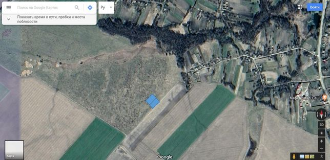Земельна ділянка для індивідуального садівництва