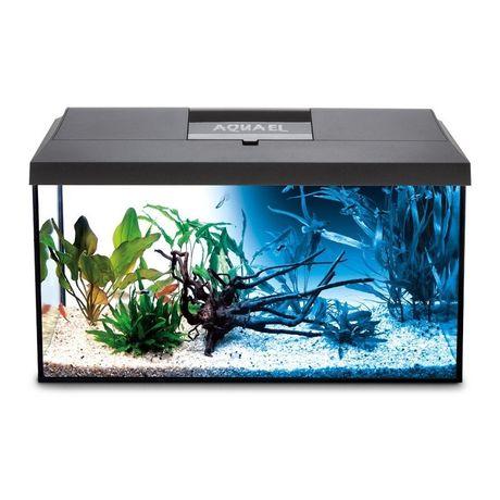 Akwarium Aquael leddy 60 54L cały zestaw z obsadą + filtry , grzałki