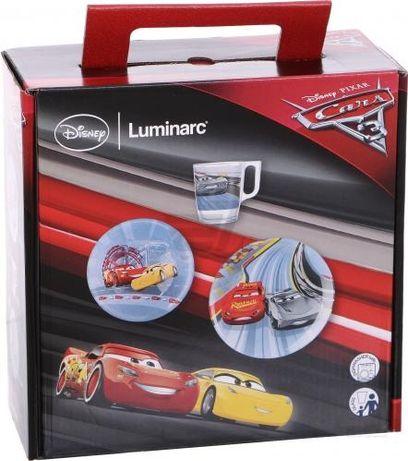 Набор детской посуды Luminarc Disney Cars Тачки