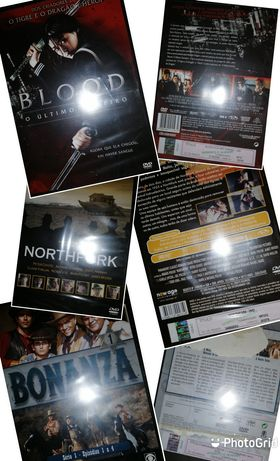 Diversos DVDs novos
