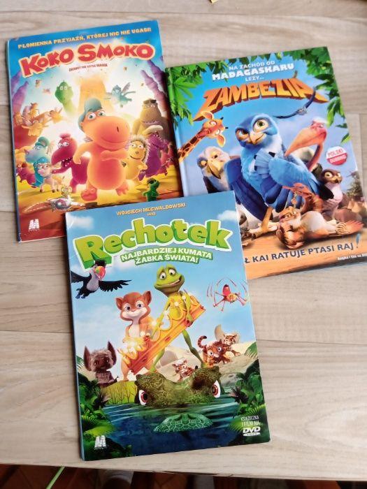 Zestaw 3 bajek DVD - stan idealny. 3 bajki gratis! Elbląg - image 1