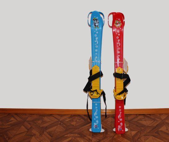 Лыжи детские Технок