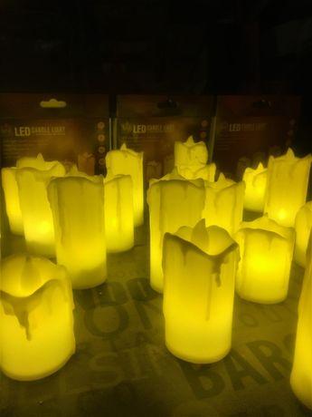 подарок декор освещения гирлянда новый год Led свечи eco light modern