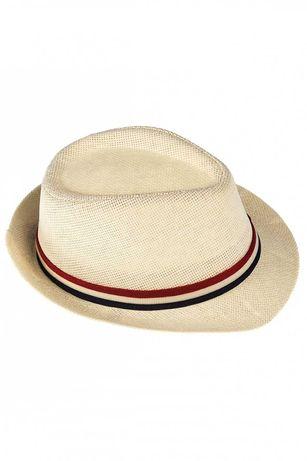 5.10.15. Letni kapelusz słomkowy rozm. 52 jak H&M dla chłopca NOWY