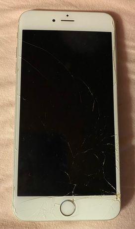 iPhone 6 S plus c/ ecrã partido