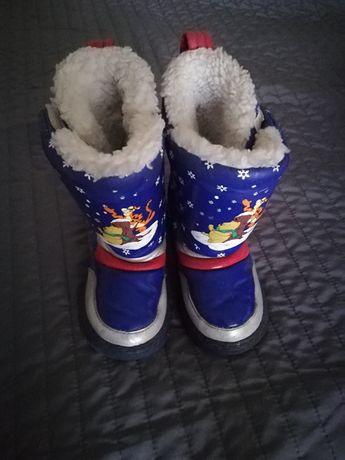 -70% Super kozaczki zimowe r. 26 Disney Winnie the Pooh kozaki zimowe