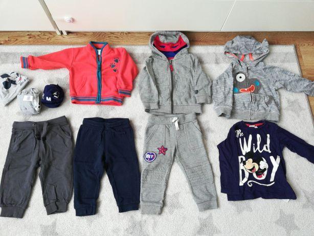 Mały zestaw ubrań dla chłopca, rozm.80