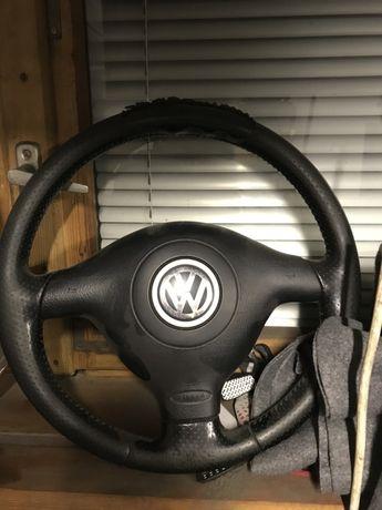Kierownica trojramienna golf iv poduszka airbag