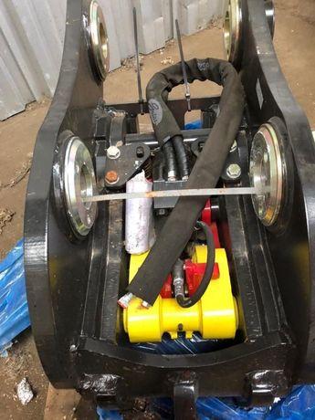 Szybkozłącze JCB JS 160-240 Hydrauliczne 80mm Bolec