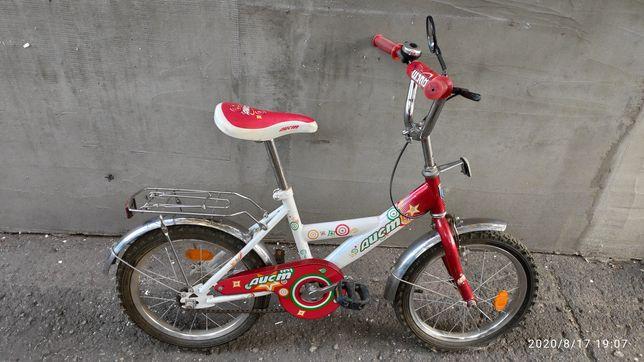 Детский велосипед аист 16 диски