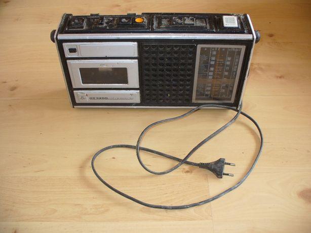 Radio-magnetofon Unitra Grundig RB 3200 Antyk, Staroć, PRL,