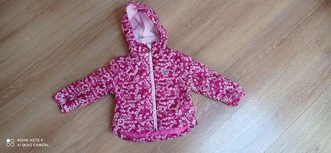 Wiosenna kurtka na polarze dla dziewczynki rozmiar 92 C&A