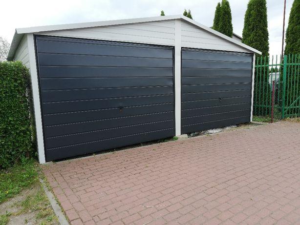 Garaż blaszny 6x6 kolor w palecie ral do wyboru brąz ,antracyt,biały
