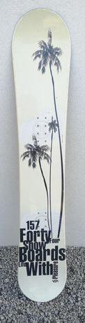Deska snowboardowa 157