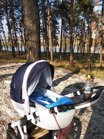 Детская коляска 3в1 Adamex Barletta (Адамекс Барлетта 3 в 1)