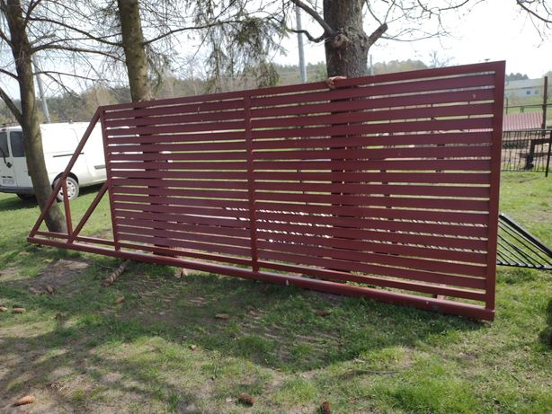 Brama panelowa okazja 410x 180