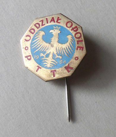 Odznaka PTTK Oddział Opole.