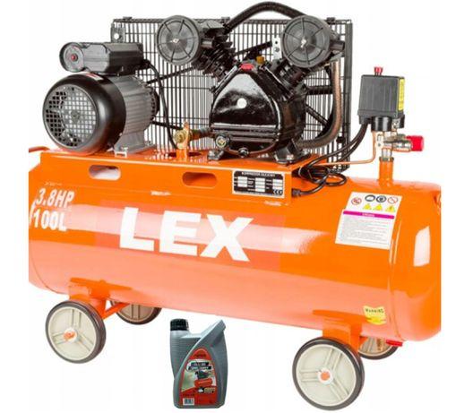Kompresor OLEJOWY 100L sprężarka 2T 480 l/min 230V