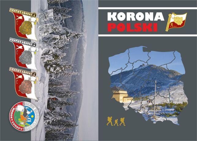Książeczka turystyczna KORONY POLSKI