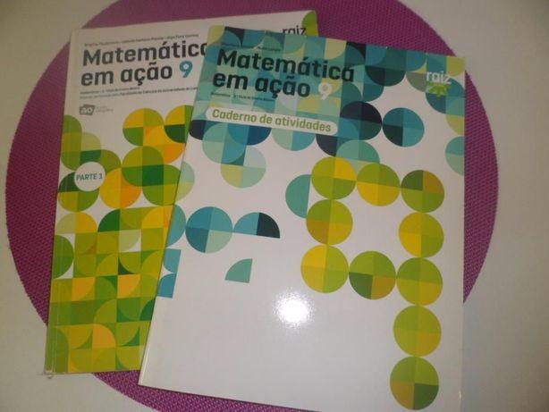 Livros Escolares 9º ANO - Matemática (USADOS)