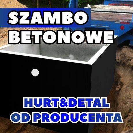Szambo Betonowe Zbiornik Betonowy na deszczówkę PROGRAM 5000zł+