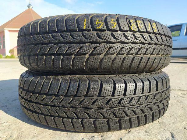 резина 155 80-R13  2зимние шины Uniroyal на ВАЗ, Ланос.