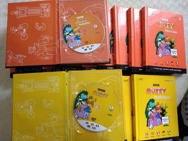MUZZI 30 CD's Iniciar Línguas Inglês Alemão Italiano Francês Espanhol