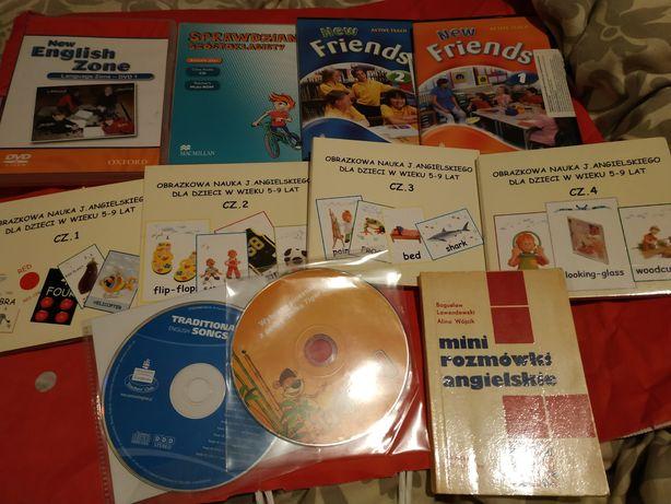 Płyty do nauki angielskiego, piosenki, słówka