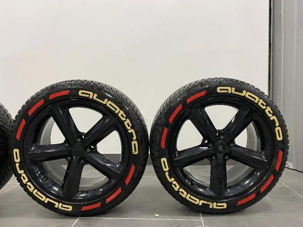 Диски Audi R18 с зимней резиной Dunlop Winter Sport5 255/45R18