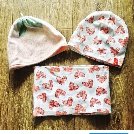 Набор шапочек для девочки