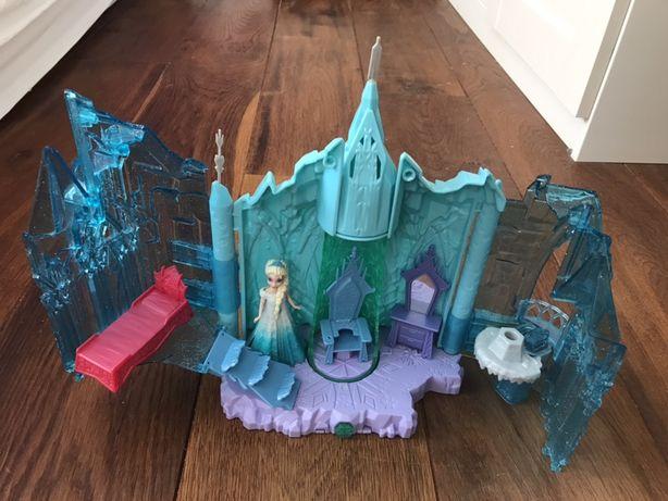 Świecący zamek Elzy Kraina Lodu Mattel jak nowy