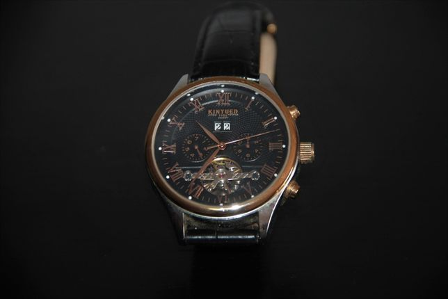 KINYUED - Wristwatch Quartz Chronograph – Stainless Steel