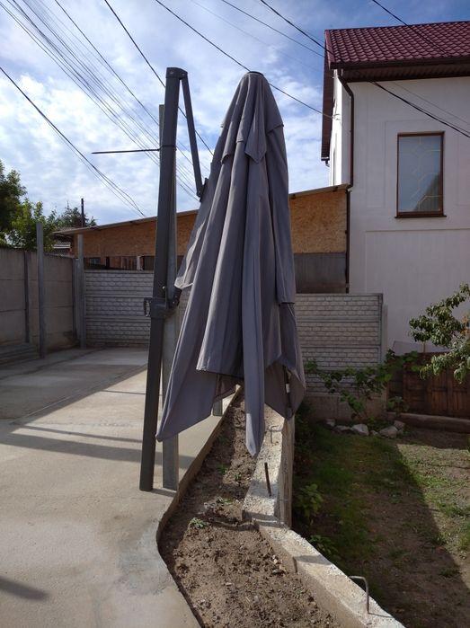 Зонтик садовый.с лебедкой Винница - изображение 1